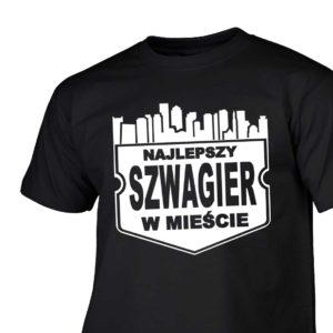 Najlepszy szwagier w mieście męska koszulka