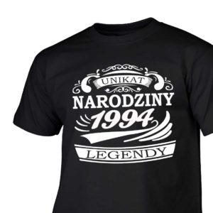Narodziny legendy 1994 rok męska koszulka z nadrukiem urodzinowym