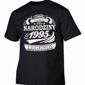 Narodziny legendy 1995 rok męska koszulka z nadrukiem