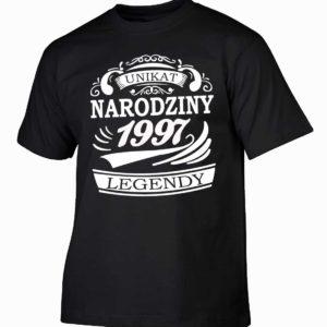 Narodziny legendy 1997 rok męska koszulka z nadrukiem