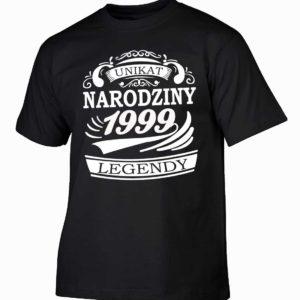 Narodziny legendy 1999 rok męska koszulka z nadrukiem