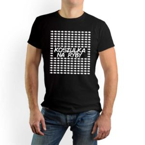 Koszulka na ryby męska koszulka