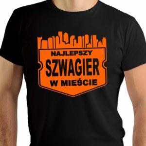 Najlepszy szwagier w mieście - męska koszulka