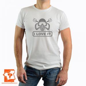 I love it - koszulki z nadrukiem dla miłośników nurkowania