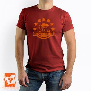 Koszulka grzybobranie - męska koszulka z nadrukiem