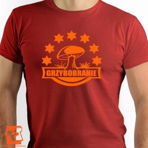 Koszulka grzybobranie - męskie koszulki z nadrukiem