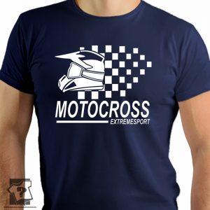 Koszulka motocross extremesport- koszulka z nadrukiem