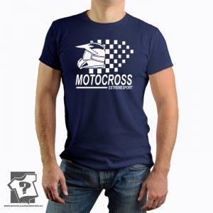 Koszulka motocross extremesport- koszulki z nadrukiem