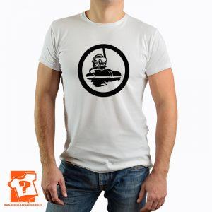 Koszulka nurek - męskie koszulki z nadrukiem dla nurków