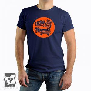 125p polski fiat - retro koszulka z nadrukiem