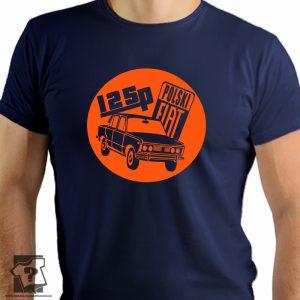 125p polski fiat - retro koszulki z nadrukiem