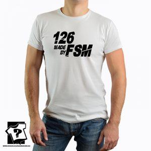 126 made by FSM - koszulka z nadrukiem