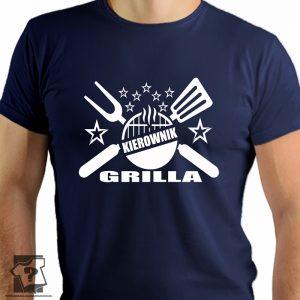 Kierownik grilla - koszulki z nadrukiem