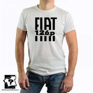 Koszulka 126 powodów do dumy - fiat 126p - koszulka z nadrukiem