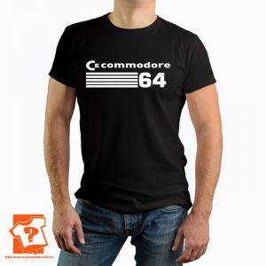 Koszulka PRL retro commodore 64 - koszulka z nadrukiem