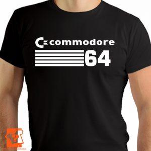 Koszulka PRL retro commodore 64 - koszulki z nadrukiem