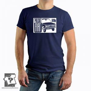 Koszulka dla fanów fiata 125p - koszulka z nadrukiem fiat 125p
