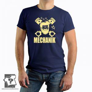 Koszulka dla mechanika - męska koszulka z nadrukiem