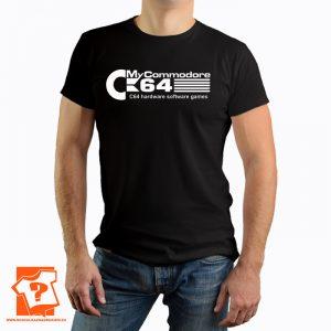 Koszulka retro commodore 64 - koszulka z nadrukiem