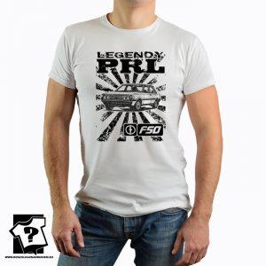 Koszulka retro polonez - koszulka z nadrukiem - legendy PRL