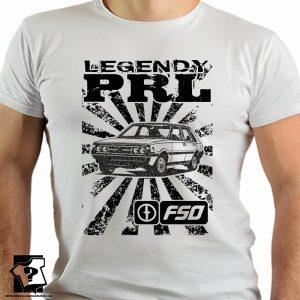 Koszulka retro polonez - koszulki z nadrukiem - legendy PRL