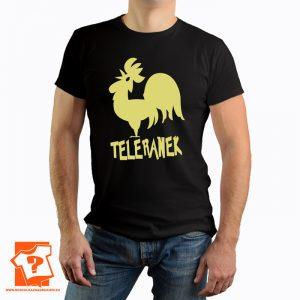 Koszulka retro teleranek - koszulka z nadrukiem