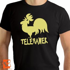 Koszulka retro teleranek - koszulki z nadrukiem