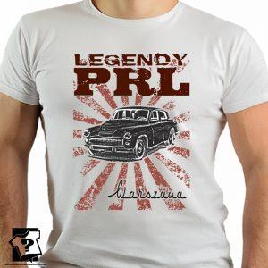 Koszulka warszawa - koszulki z nadrukiem - legendy PRL