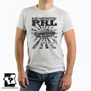 Koszulka z nadrukiem - legendy PRL - koszulka syrena