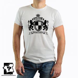 Królowie rodzą się w styczniu - koszulka urodzinowa - koszulka z nadrukiem