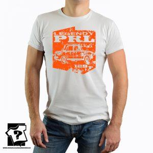 Legendy PRL - koszulka fiat 125p - koszulka z nadrukiem