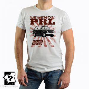 Legendy PRL - koszulka fiat 126p - koszulka z nadrukiem