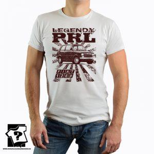 Legendy PRL - koszulka fiat 126p - koszulka z nadrukiem z czasów PRL