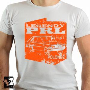 Legendy PRL - koszulka polonez - koszulki z nadrukiem
