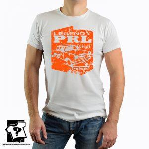 Legendy PRL - koszulka trabant - koszulka z nadrukiem
