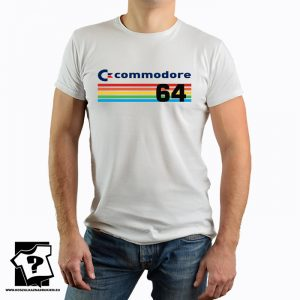 Logo commodore 64 - koszulka z nadrukiem