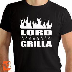 Lord grilla - męskie koszulki z nadrukiem