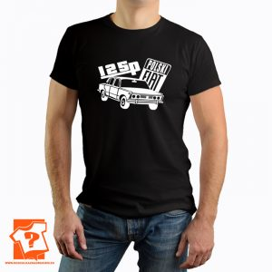 Polski fiat 125p – koszulka fiat 125p – koszulka z nadrukiem z czasów PRL