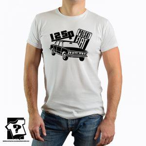 Polski fiat 125p - koszulka fiat 125p - koszulka z nadrukiem