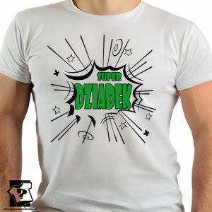 Prezent dla dziadka - super dziadek - koszulki z nadrukiem