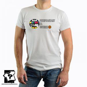 Przepraszamy za usterki - koszulka z ikonami PRL - koszulka z nadrukiem