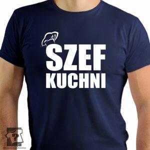 Szef kuchni - koszulki z nadrukiem