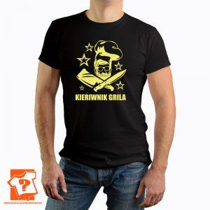 T-shirt Kierownik grilla - koszulka z nadrukiem