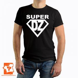 T-shirt super dziadek - prezent na dzień dziadka - koszulka z nadrukiem