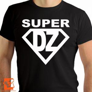 T-shirt super dziadek - prezent na dzień dziadka - koszulki z nadrukiem
