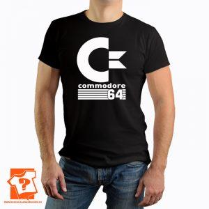 Wychowany na commodore 64 - koszulka z nadrukiem