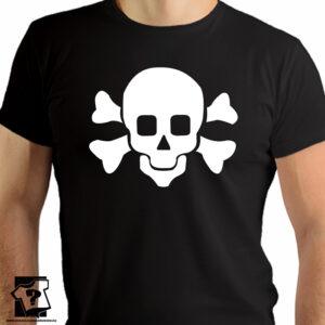 Czaszka - t-shirt z motywem czaszki - koszulki z nadrukiem