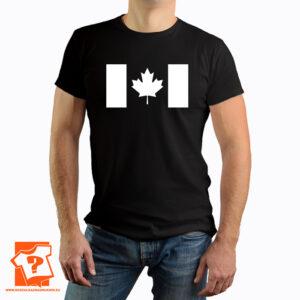 Flaga Kanady na koszulce - koszulki z nadrukiem