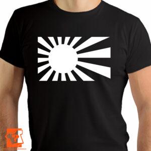 Biała flaga Kamikaze - koszulki z nadrukiem