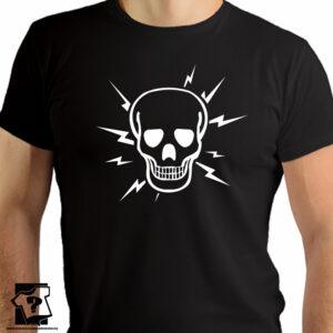 Czaszka - koszulka z motywem czaszki - koszulki z nadrukiem